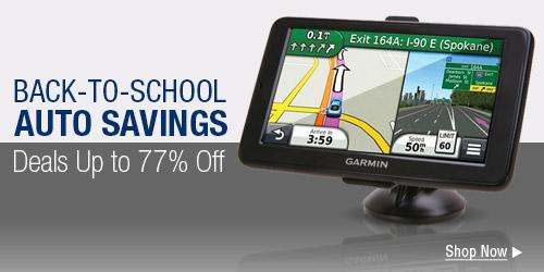 Back-to-school auto savings