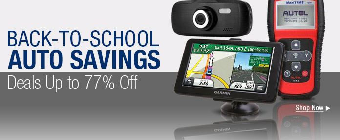 Back-to-school auto savings