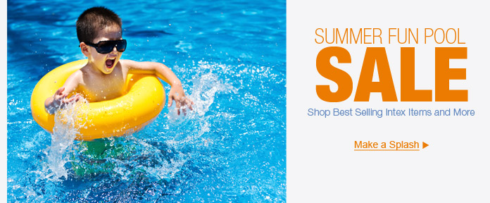 Summer Fun Pool Sale