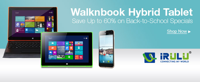 Walknbook Hybrid Tablet PC