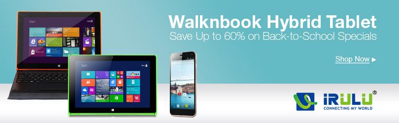 Walknbook Hybrid Tablet PC