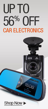 Up to 56% off Car Electronics