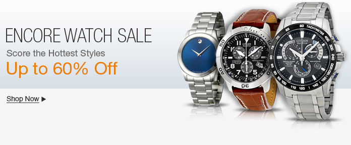 Encore Watch Sale