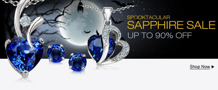 Spooktacular Sapphire Sale