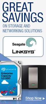 Great savings on Storage and Networking Solutions