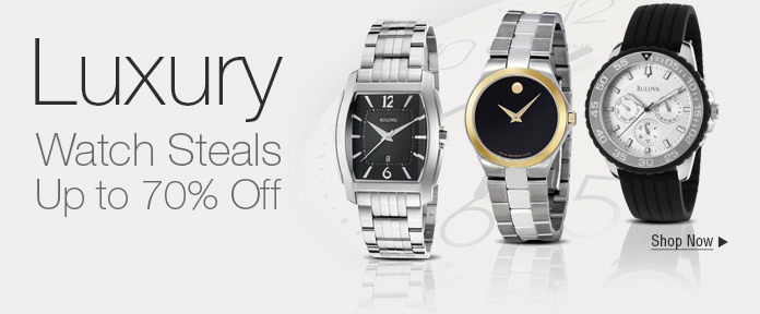 Watch Steals Up to 70% Off