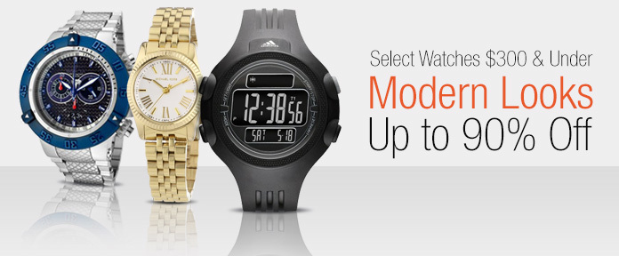 Select Watches $300 & Under