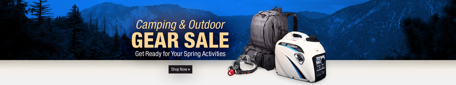 Camping & Outdoor Gear Sale
