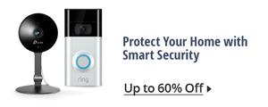 Protect your home with smart security
