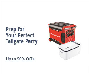 PREP FOR YOUR PERFECT TAILGATE PARTY
