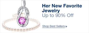 Her new favorite jewelry, up to 90% off