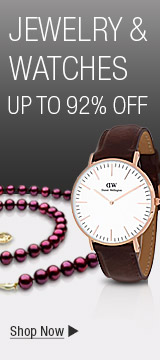 JEWELRY & WATCHES, UP TO 92% OFF