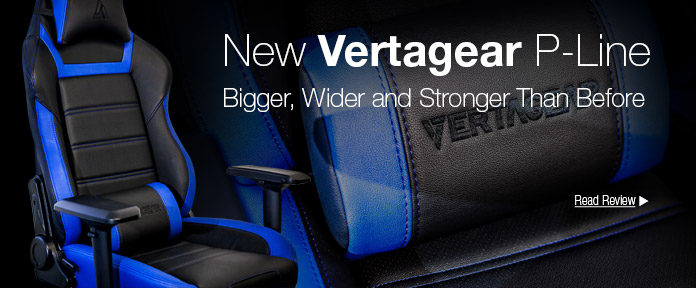 New Vertagear P-Line: Bigger, Wider and Stronger Than Before