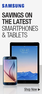 Savings on the latest smartphones & tablets