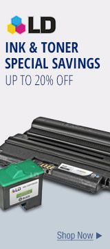Ink & Toner Special Savings