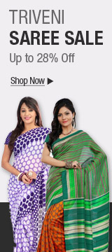 TRIVENI SAREE SALE - Up to 28% off