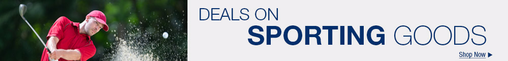 Deals on sporting goods