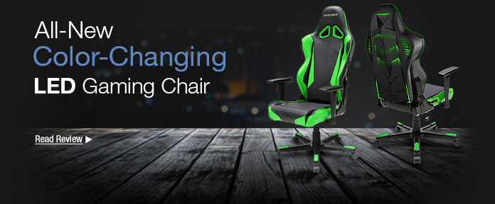 All-New Color-Changing LED Gaming Chair