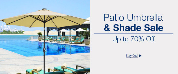Patio Umbrella & Shade Sale