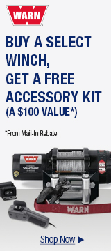 Buy a select winch, get a free accessory kit