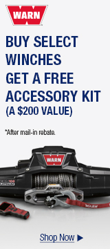 Buy select Winches, Get a free accessory kit