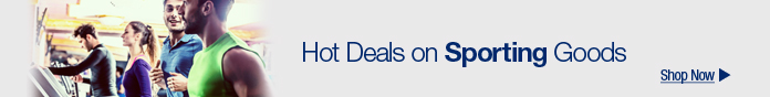 Hot deals on sporting goods
