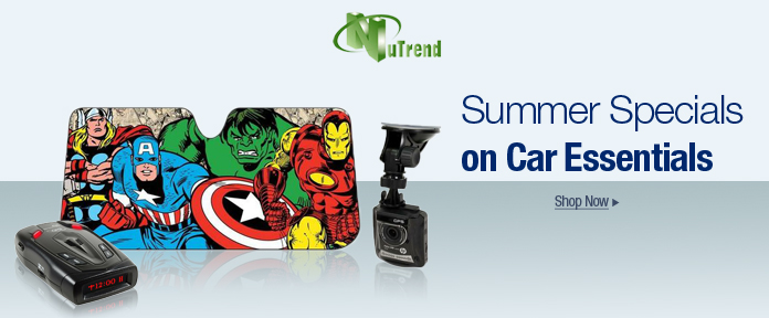 Summer specials on car essentials