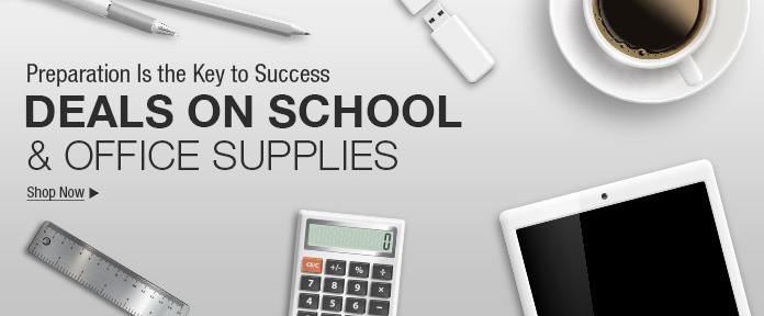 Deals on school & office supplies