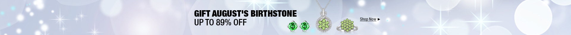 Gift August's birthstone