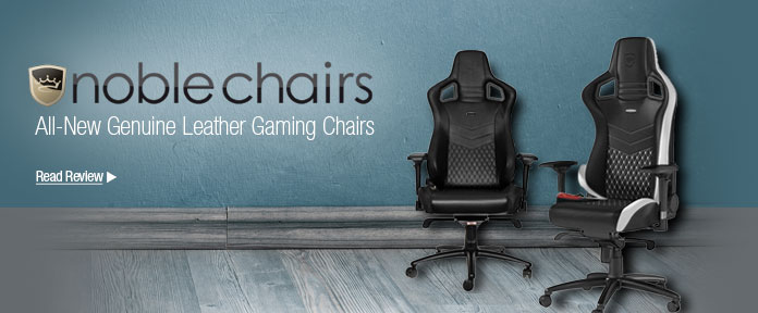 All-new genuine leather gaming chairs