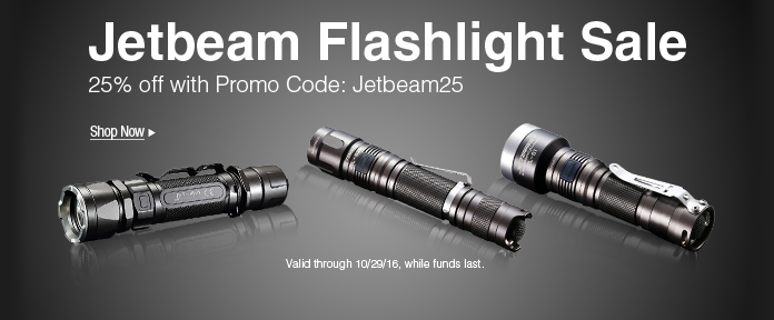 Jetbeam Flashlight sale