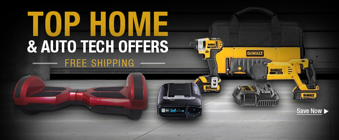 Top Home & Auto Tech Offers