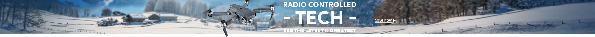Radio control drone tech