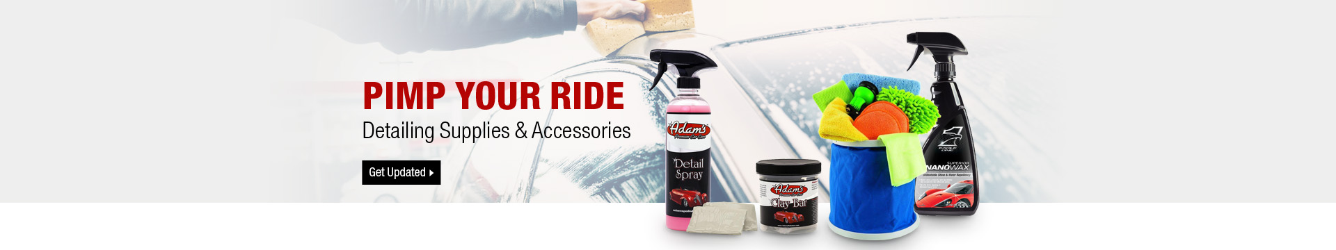 Detailing Supplies & Accessories