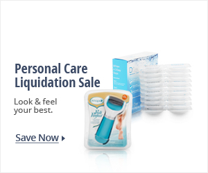 Personal care liquidation sale