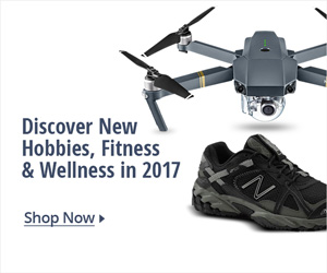 Discover New Hobbies, fitness & wellness in 2017