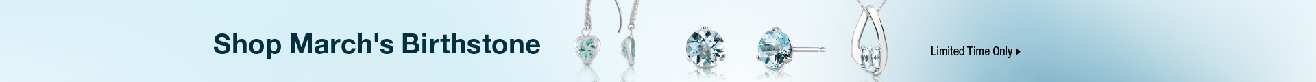 Shop March's birthstone