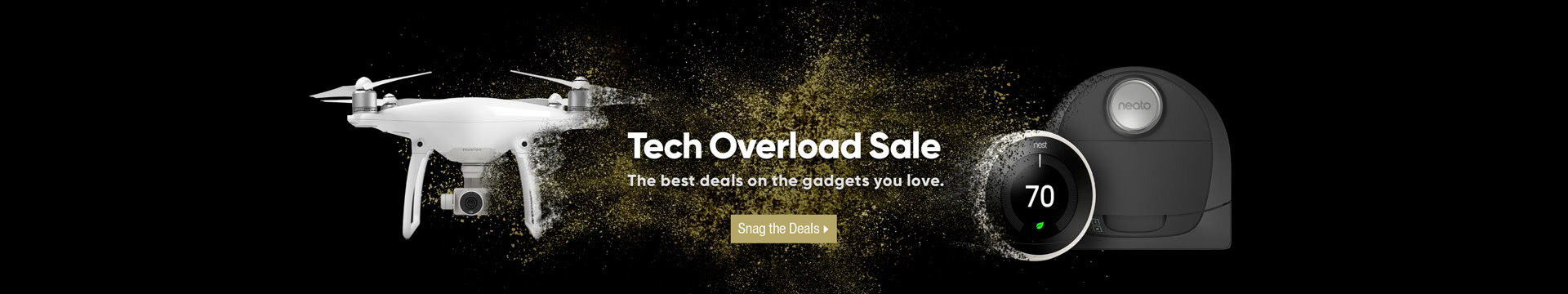 Tech overload sale