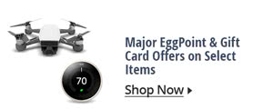 Major EggPoint & Gift Card Offers on Select Items