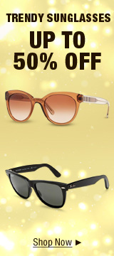 Trendy Sunglasses up to 50% off