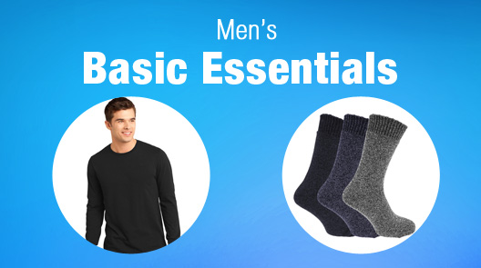 Men's Basic Essentials