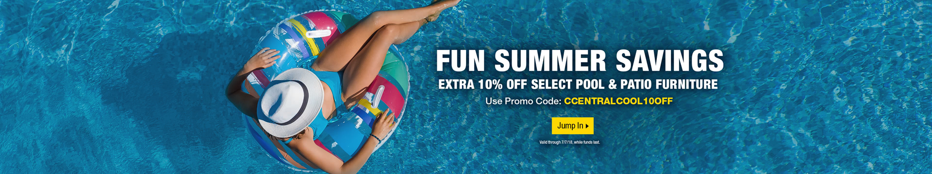 FUN SUMMER SAVINGS