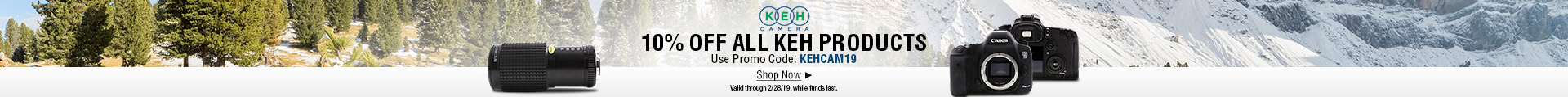 10% OFF ALL KEH PRODUCTS