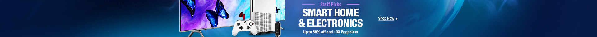 Smart Home & Electronics - Up to 80% Off