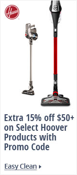 15% off Hoover