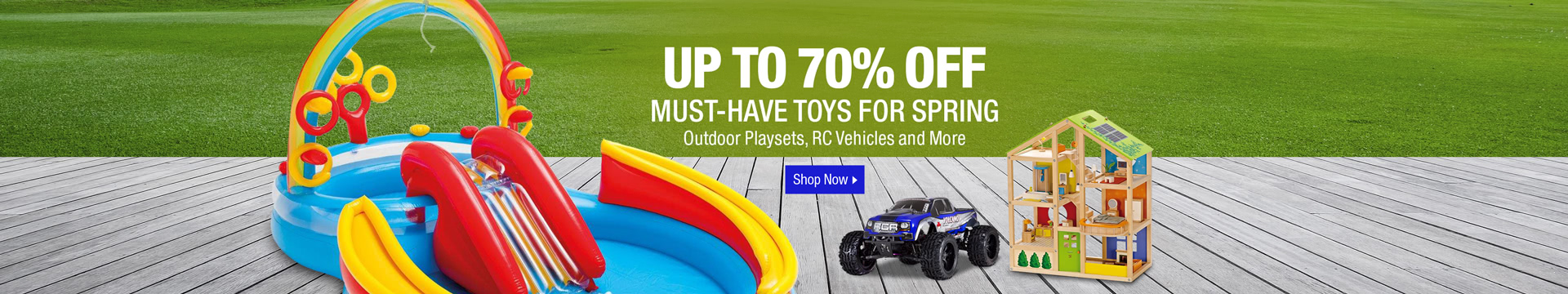 Up to 70% off must-have toys for spring
