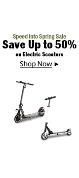 Save Up to 50% on Electric Scooters