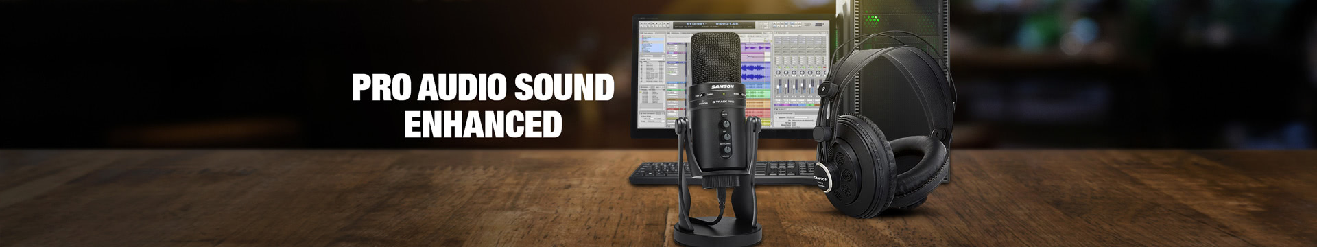 PRO AUDIO SOUND ENHANCED