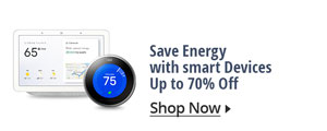 Save Energy with smart Devices Up to 70% Off