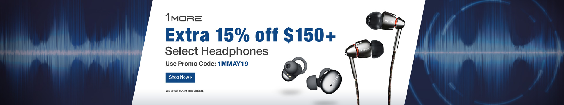 Extra 15% off $150+ select headphones